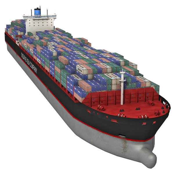 11 Container Ship Icon Images