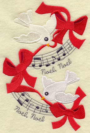 Christmas Machine Embroidery Designs Birds