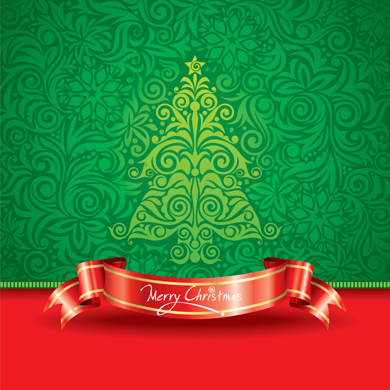 8 Merry Christmas Vector Free Download Images