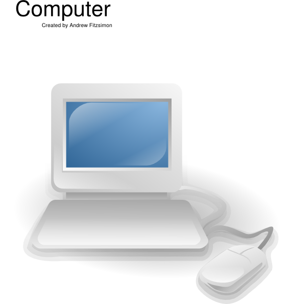 14 Computer Icon Clip Art Images
