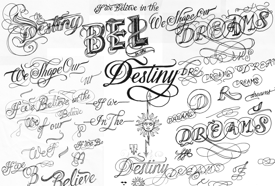 14 Types Of Lettering Fonts Images