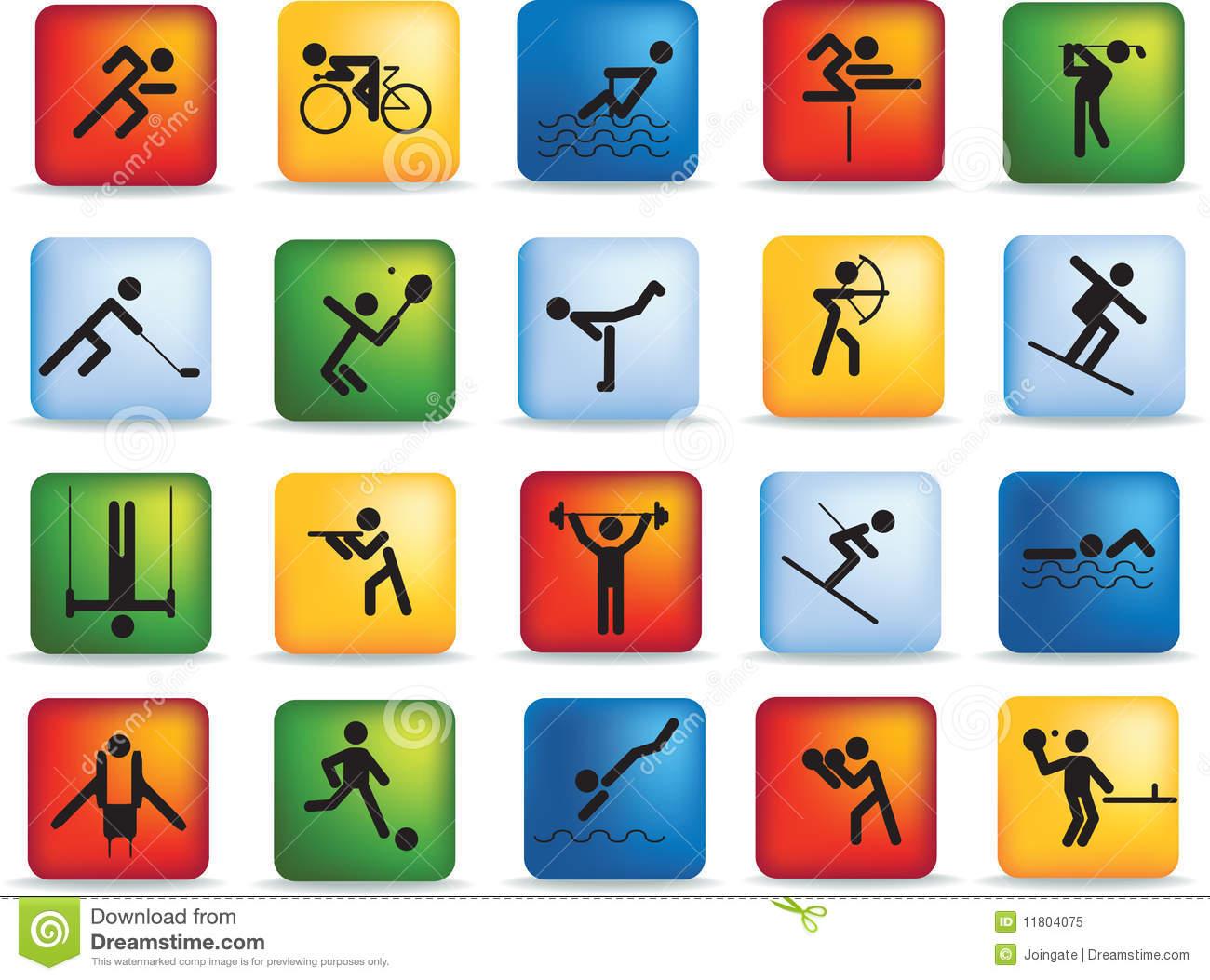 Figure Sports Icon