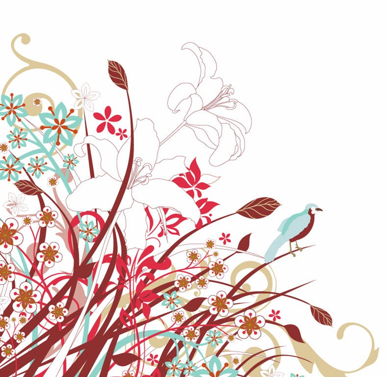 10 Beautiful Vector Flowers Images
