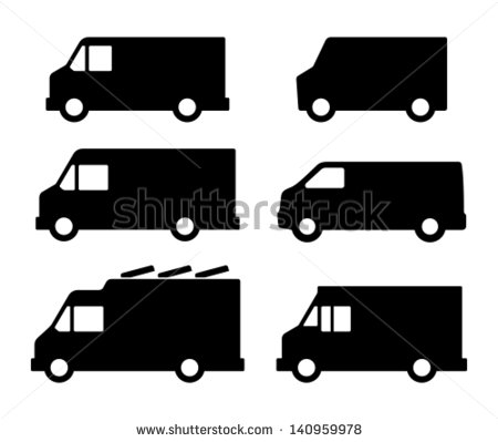 Food Truck Icon Vector