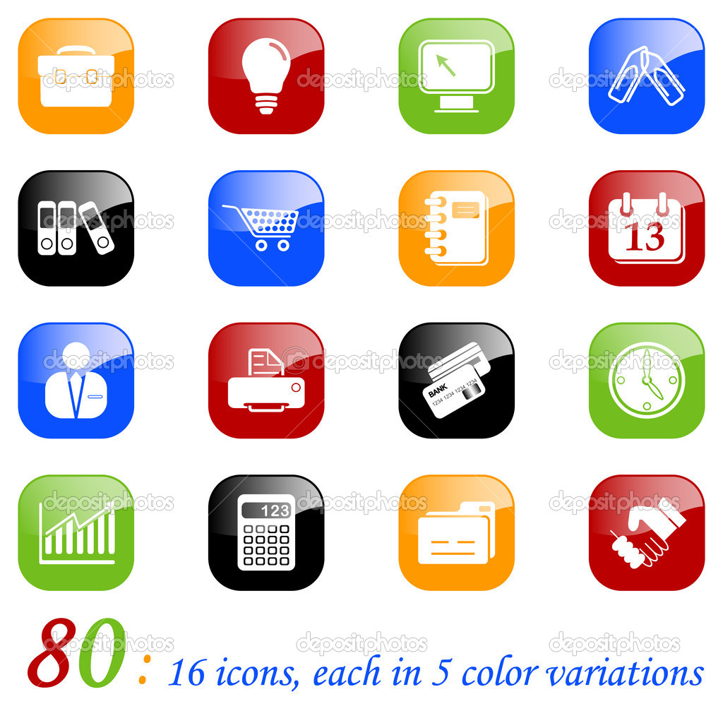 Free Business Icons Color