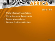 15 african animals powerpoint templates images african animal free powerpoint templates africa toneelgroepblik Images