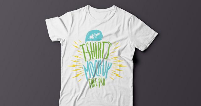 Free Psd T-Shirt Mockup Template