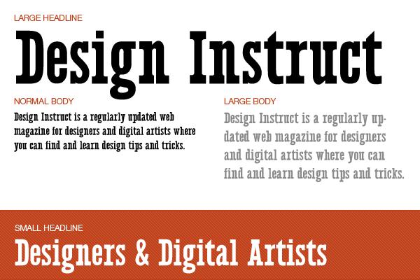 11 Free Serif Fonts Images