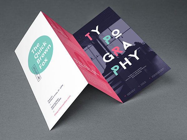 Free Tri-Fold Brochure Mock Up