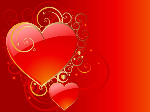 Free Valentine Backgrounds Hearts