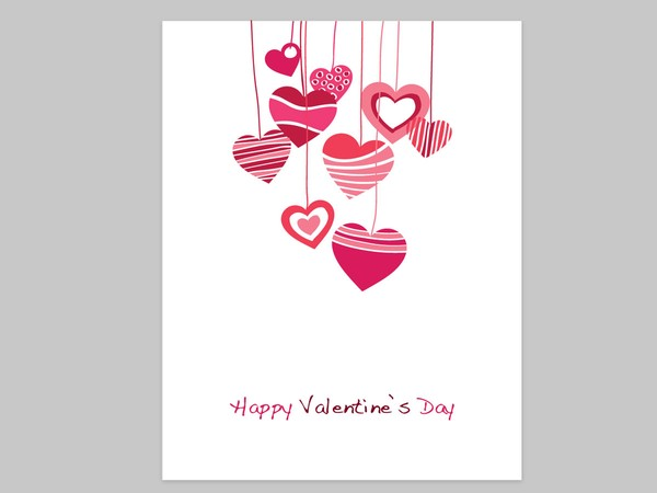 Free Valentine Heart Card