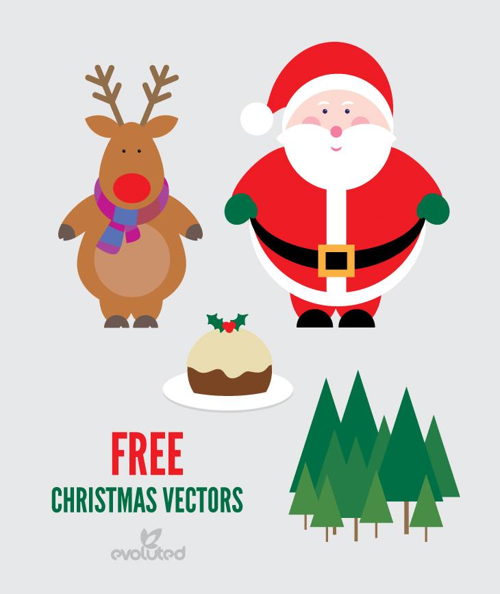 Free Vector Christmas Reindeer
