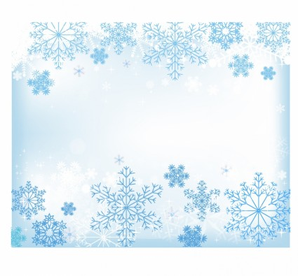 Free Vector Snow Background