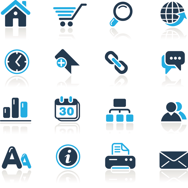 Free Vector Web Icons Design