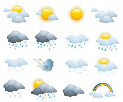 Free Weather Forecast Icons