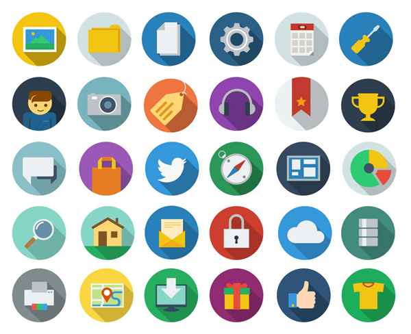 12 graphics and icons website images