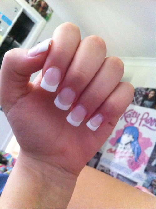 French Tip Nail Designs Tumblr
