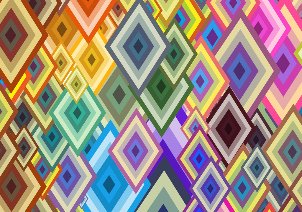 15 Geometric Wallpaper Vector Images