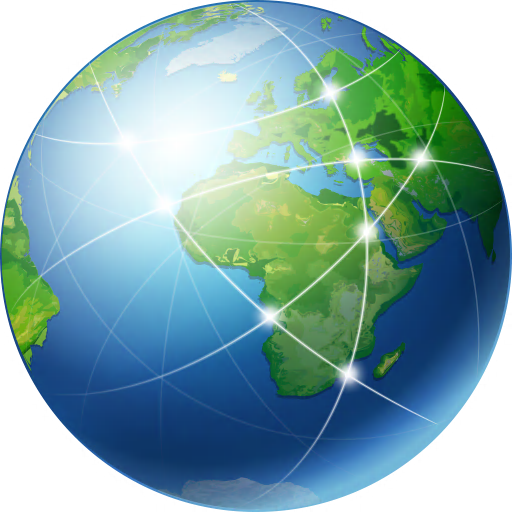 12 Free Web Globe Icon.png Images