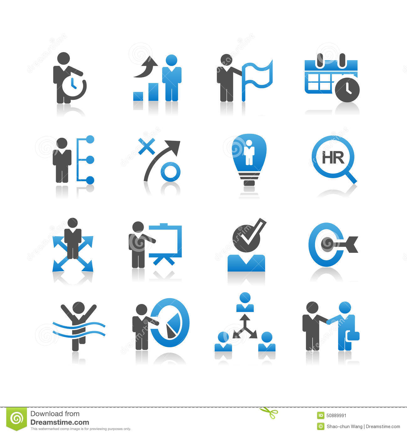 9 Business Resources Icon Images