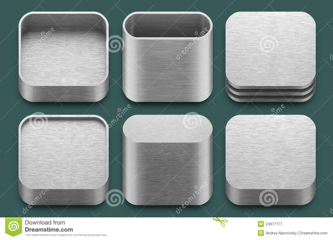 iPad Apps Icons Templates