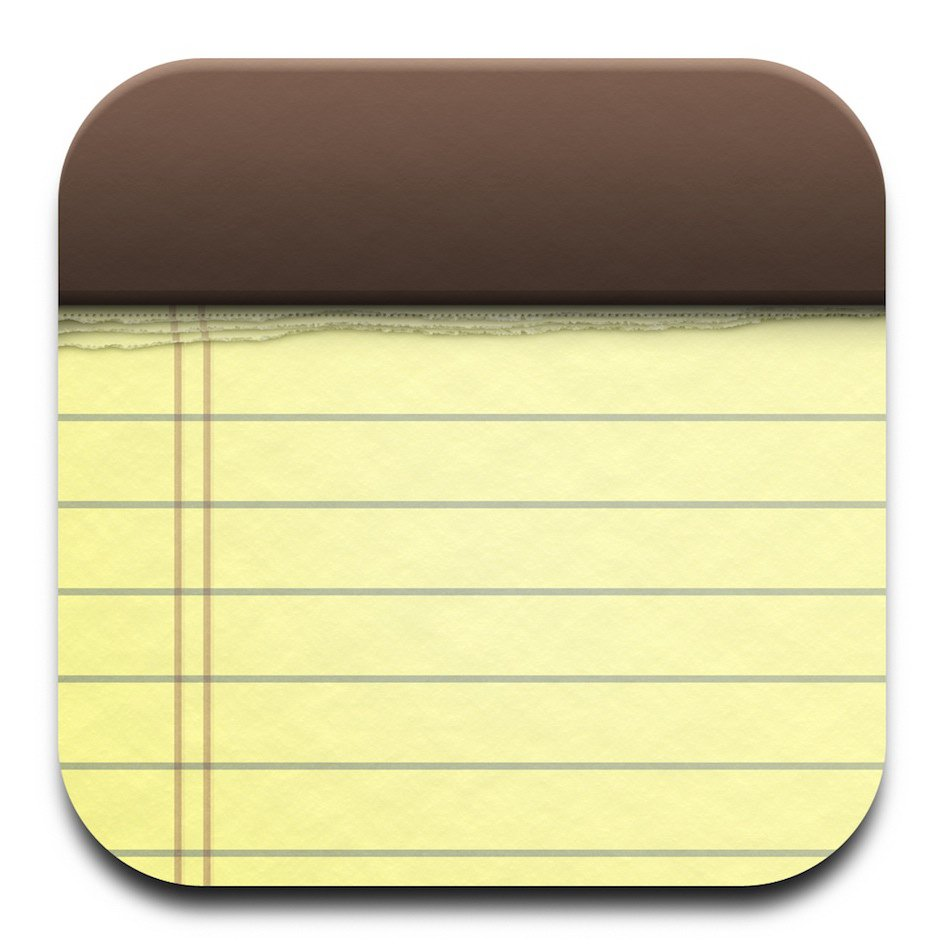 14 IPad Notes App Icon Images