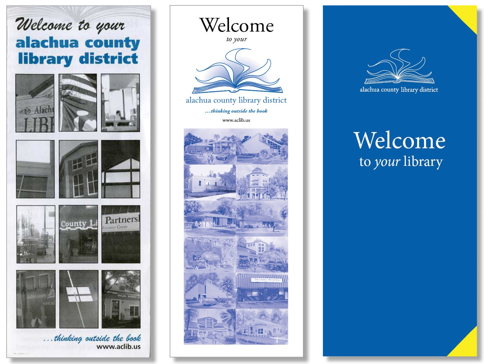 Library Welcome Brochure