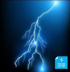 17 Lightning Vector Art Images
