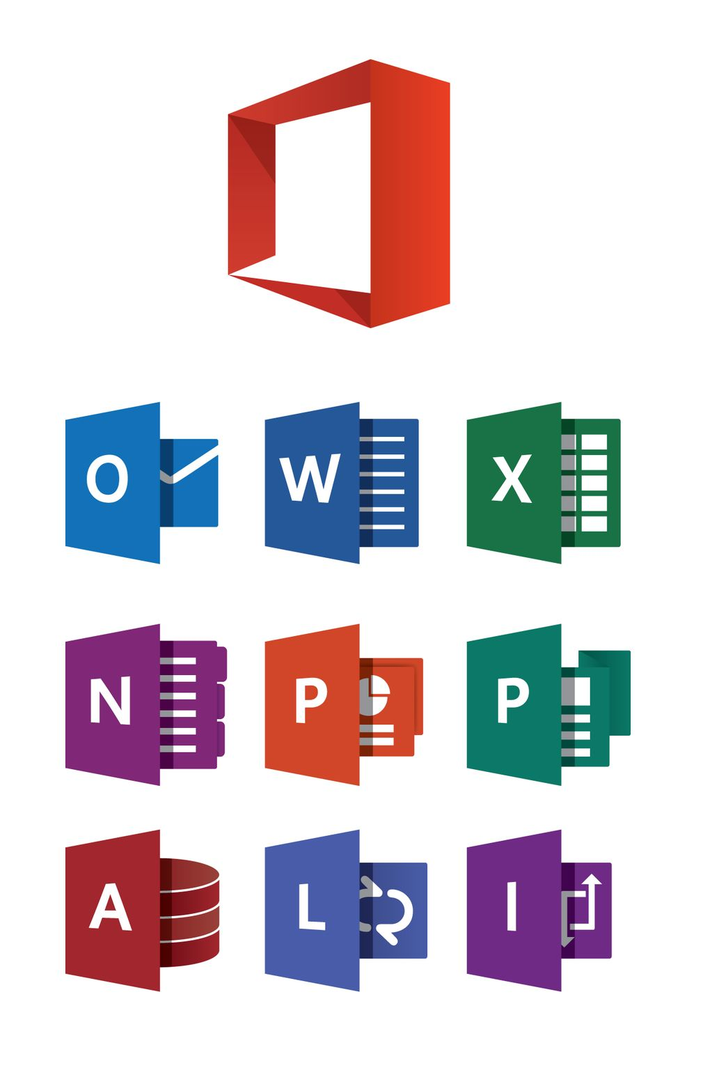11 Microsoft Office 2013 Logos Vector Images Microsoft Office Icons 2013 Vector Microsoft