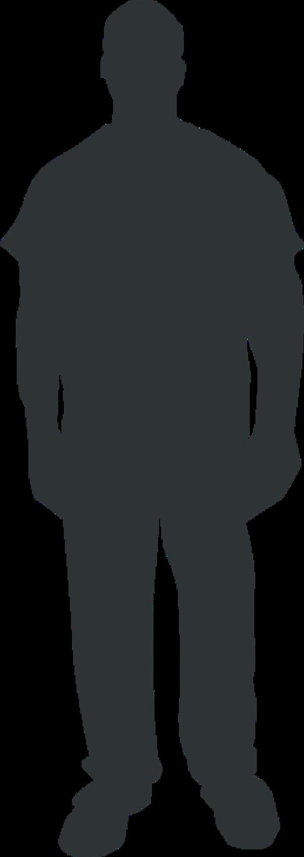 Person Outline Clip Art