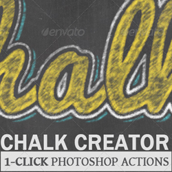 Photoshop Chalk Style