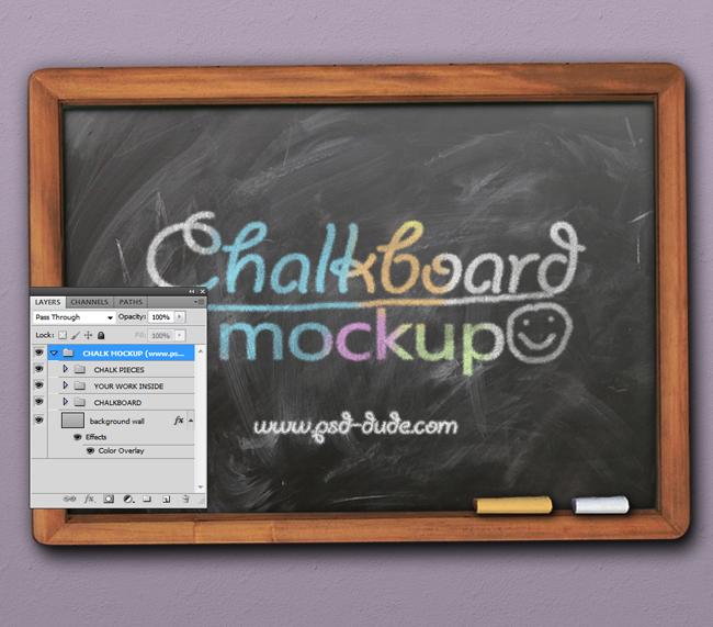Photoshop Chalkboard Effect Tutorial
