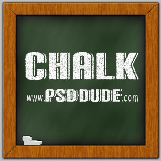 13 Chalk Photoshop Tutorial Images