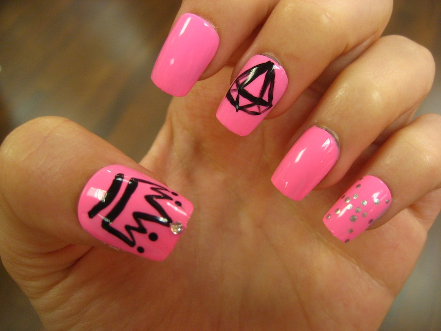 Princess Crown Nail Designs