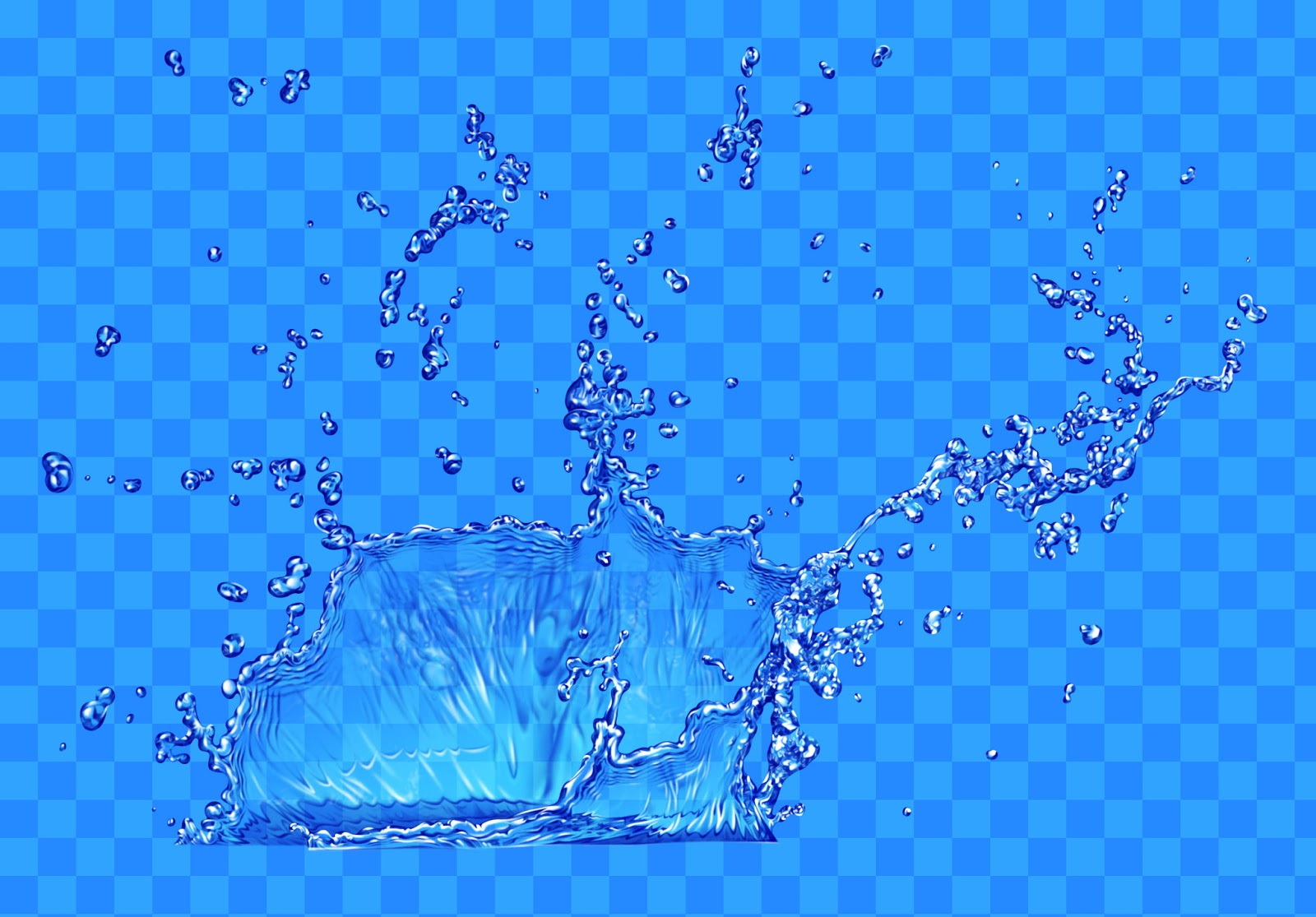 6 Layered PSD Water Series Images