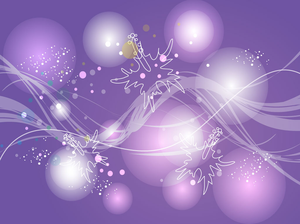 11 Lavendar Abstract Vector Images