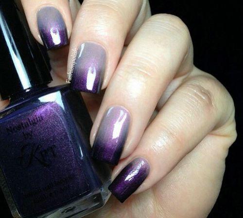 16 Pretty Purple Nail Designs Images
