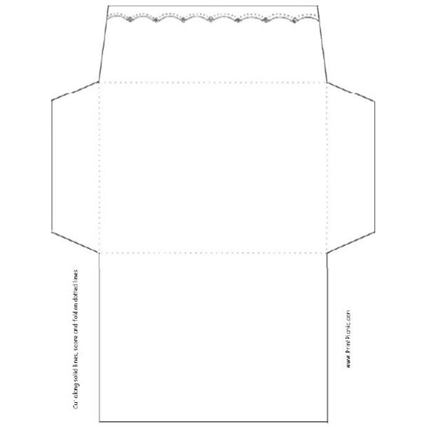9 Envelopes Free Printable Designs Images