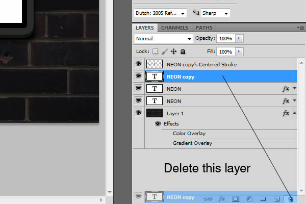 7 Photoshop Delete Layer Effects Images
