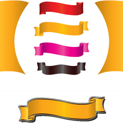 Ribbon Banner PSD
