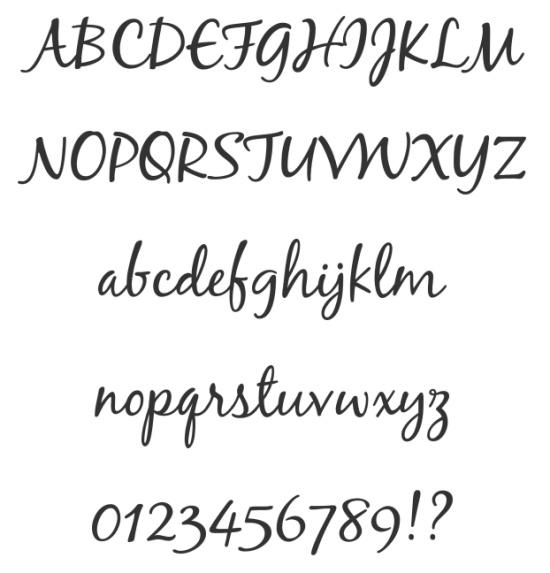 Script Fonts Free