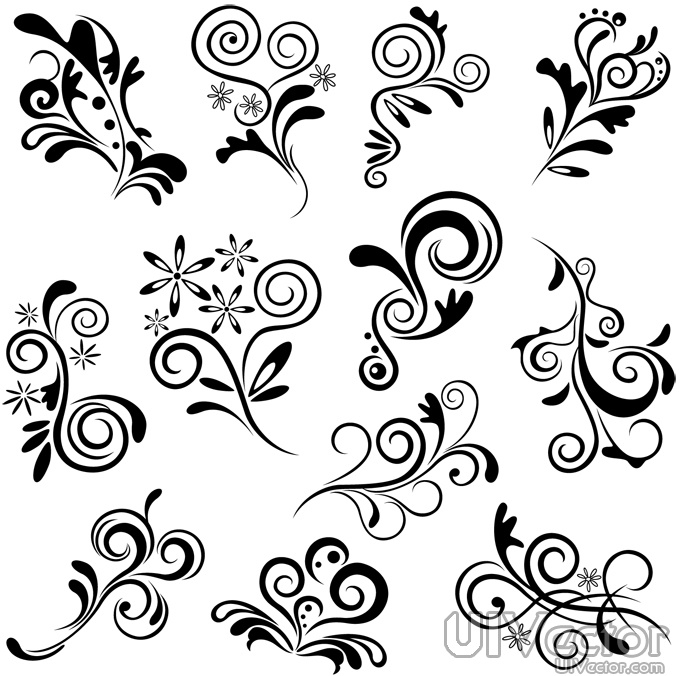 Simple Line Design Patterns
