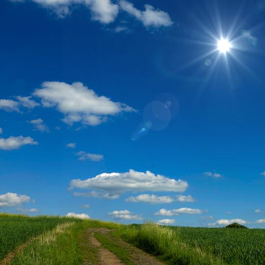 12 PSD Sky Sun Images