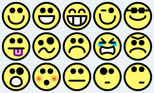 17 Small Smiley-Face Emoticons Images