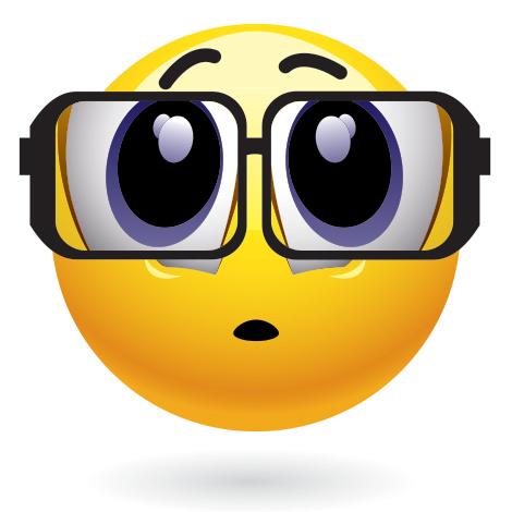 Smiley-Face Emoticon Glasses