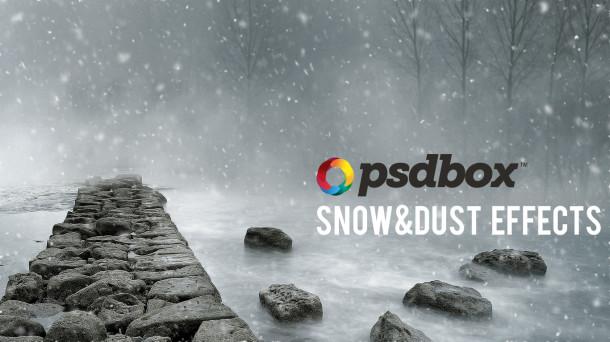 Snow Effect Photoshop Tutorial