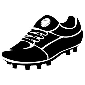 14 Soccer Shoe Vector Art Free Images