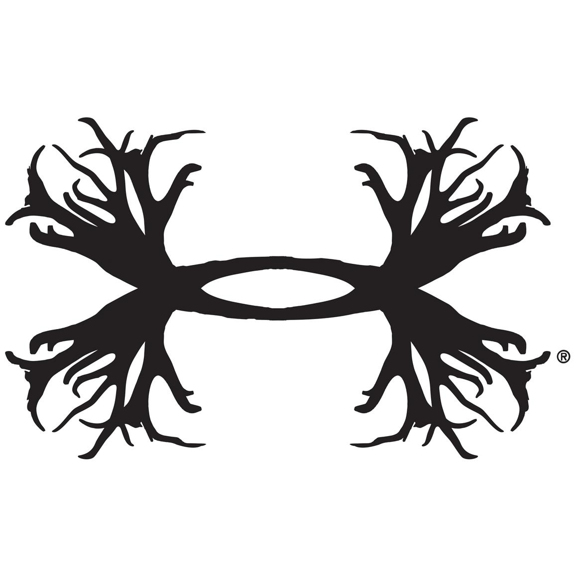Under Armour Antler Logo Decal
