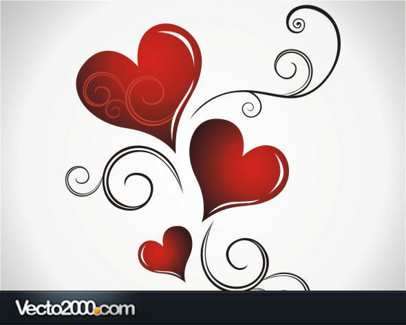 11 Valentine's Day Heart Vector Images