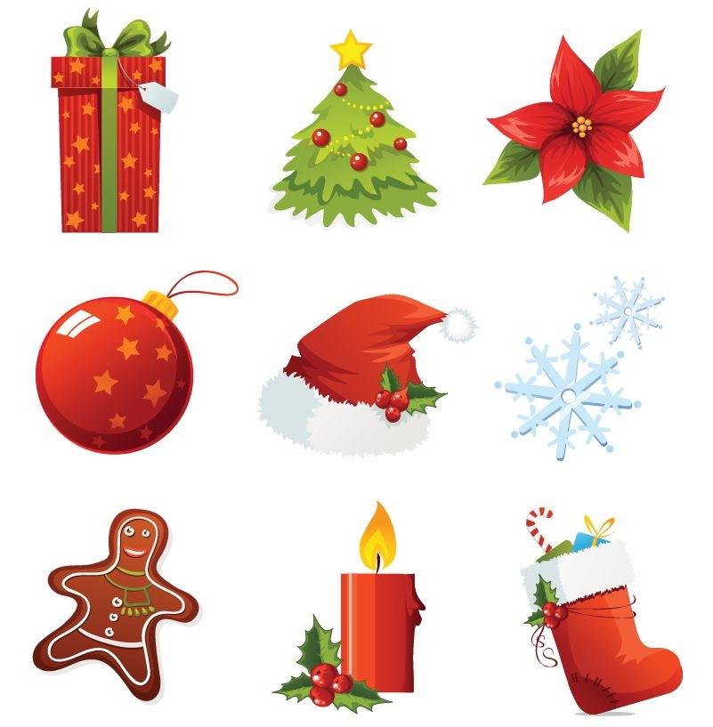 Vector Christmas Icons